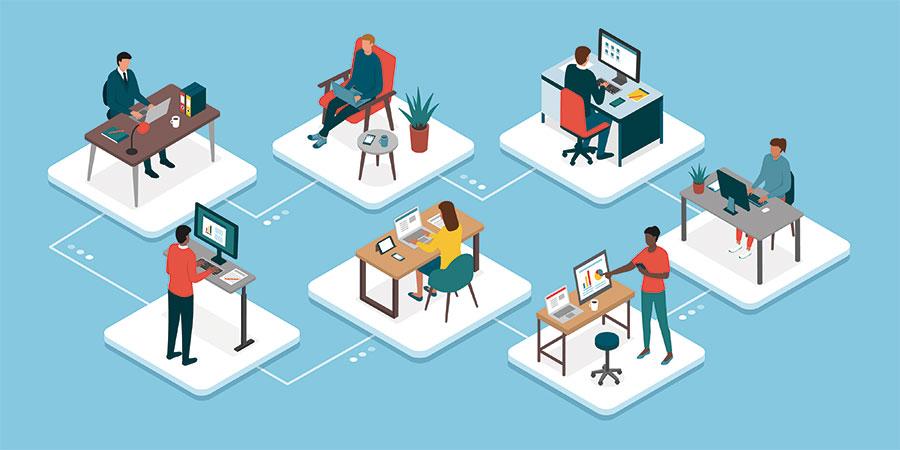 Animer une équipe à distance 2/4 : communiquer efficacement